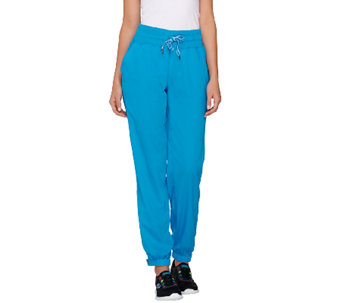cee bee CHERYL BURKE Petite Water Resistant Jogger Pants - A264188