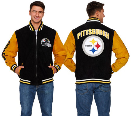 NFL Suede Zipper Front Jacket
