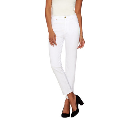 C. Wonder Stretch Forward Seam Slim Leg Ankle Pants