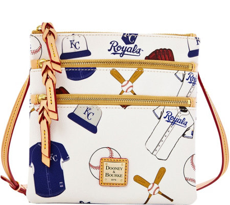 Dooney & Bourke MLB Royals Triple Zip Crossbody