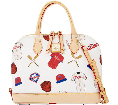 Dooney & Bourke MLB Phillies Zip Zip Satchel