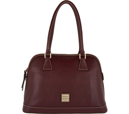 Dooney & Bourke Saffiano Leather Domed Satchel