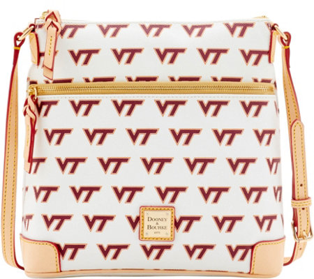 Dooney & Bourke NCAA Virginia Tech University Crossbody