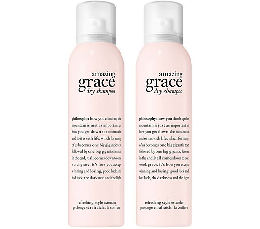 Philosophy Dry Shampoo Refreshing Style Extender Duo Qvc Com