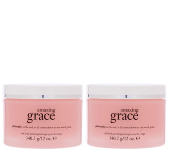 philosophy super-size hot salt scrub duo - A288588
