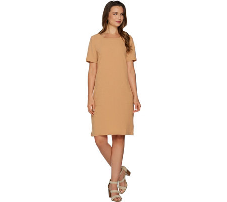 Linea by Louis Dell'Olio Gauze Pull-Over Dress