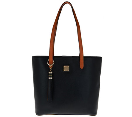 Dooney & Bourke Saffiano Leather Hadley Tote Handbag