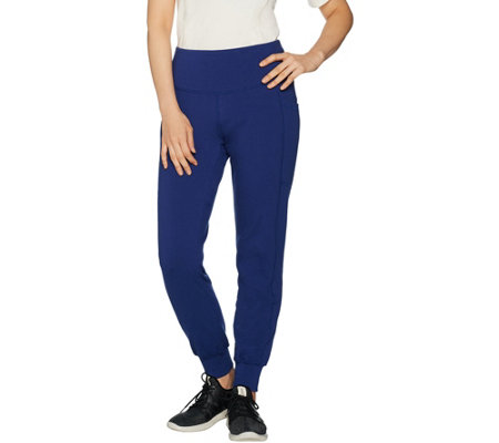 Denim & Co. Active Pull-On Knit Jogger Leggings