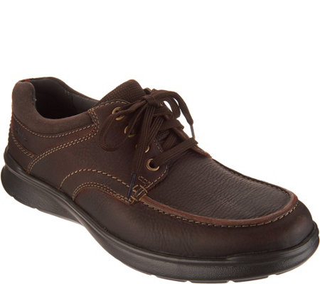 Clarks Men's Leather Lace-up Shoes - Cotrell Edge