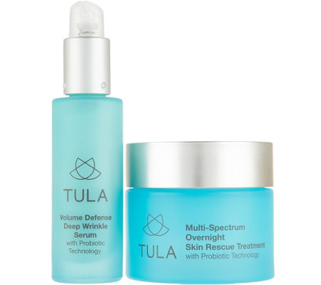 TULA by Dr. Raj Probiotic Overnight Treatment 2-Piece Set