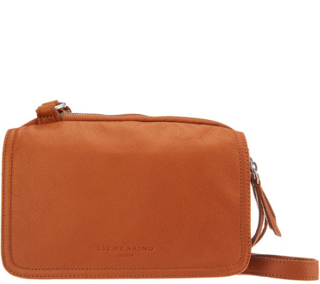 """As Is"" Liebeskind Leather Crossbody - Maike"