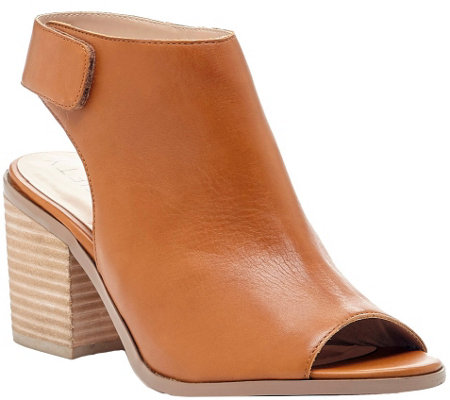 Sole Society Block Heel Sandals - Jagger