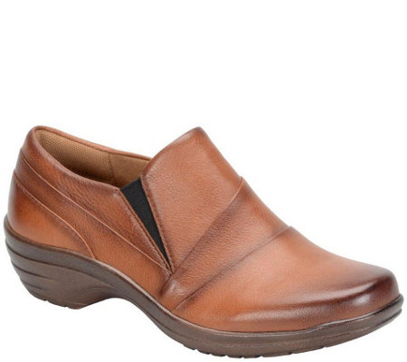 Comfortiva by Softspots Burnished Leather Slip-ons - Sebring