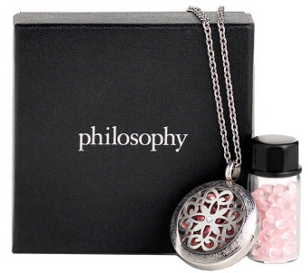philosophy amazing grace necklace & fragrancebeads - A356088