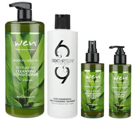 WEN by Chaz Dean Cleanse and TreatEssentials Kit