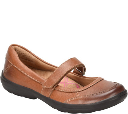 Comfortiva Leather Mary Janes - Roma