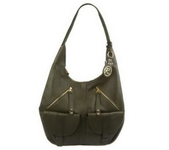 """As Is"" Roccatella Glove Leather Gretchen Hobo Bag - A235089"
