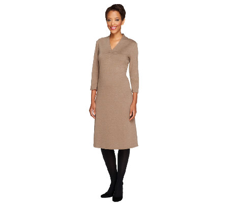 Liz Claiborne New York Petite Essentials Knit Dress