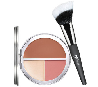 IT Cosmetics CC  Vitality Radiance Creme Disc w/ Brush Auto-Delivery - A265989