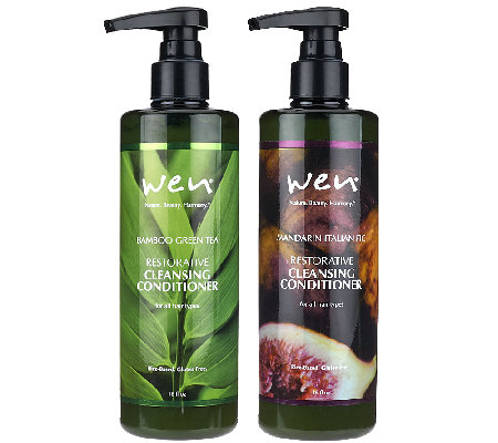 WEN by Chaz Dean Cleansing Cond. Duo with Rice Protein