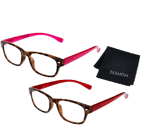 Tashon Progressive Translucent Readers Set of 2 Strength1-2.5