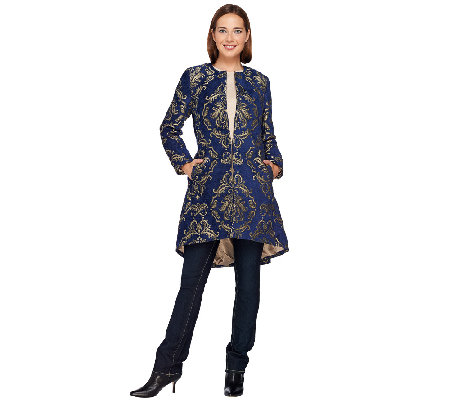 Susan Graver 25th Anniversary Tapestry Jacket