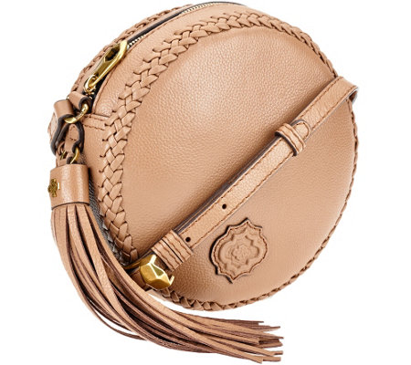 orYANY Pebble Leather Canteen Bag - Kaye