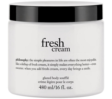 philosophy super-size 16 oz glazed body souffle Auto-Delivery