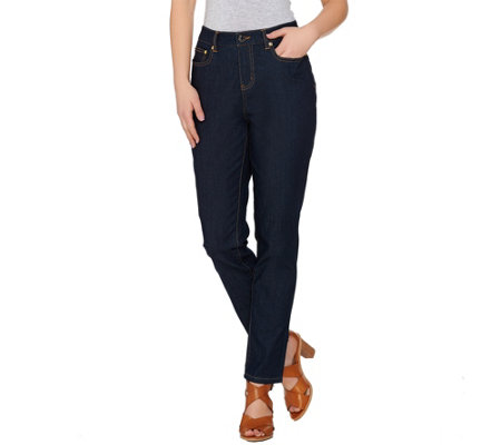 C. Wonder 5-Pocket Slim Leg Ankle Jeans with Signature Hardware
