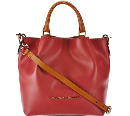 Dooney & Bourke Smooth Leather Small Barlow Satchel