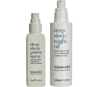 This Works Pillow Spray & Night Oil 2-piece Set - A277989