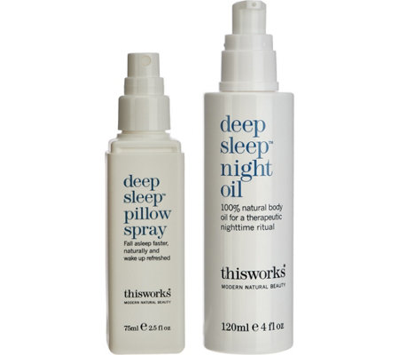 This Works Pillow Spray & Night Oil 2-piece Set