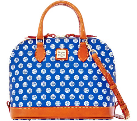 Dooney & Bourke MLB Cubs Zip Zip Satchel