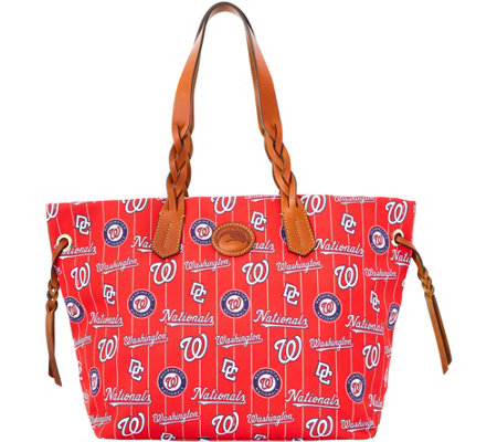 Dooney & Bourke MLB Nylon Nationals Shopper