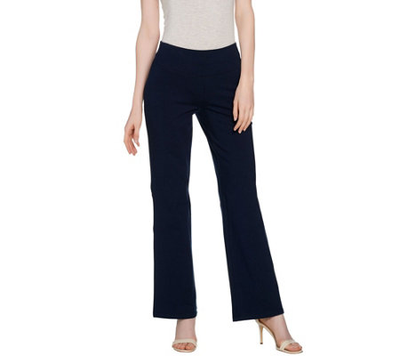 Wicked by Women with Control Regular Pull-On Knit Boot Cut Pants