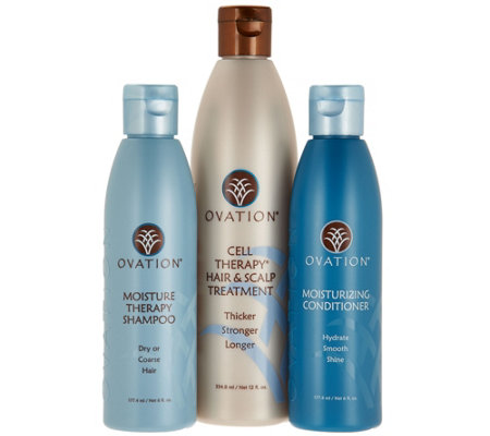 Ovation Cell Therapy 12 oz. with Shampoo & Conditioner,6oz