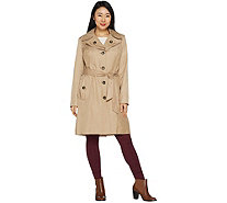 London Fog Women's Water Repellent Trench Coat - A300289