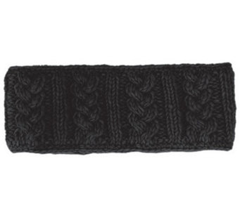 Nirvanna Designs Cable Headband with Fleece - A331089