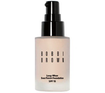 Bobbi Brown Long-Wear Even Finish Foundation SPF 15, 1 oz - A337389