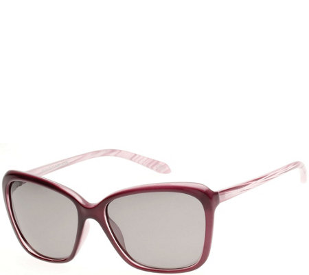 Skechers Women's Polarized Sunglasses - Burgundy