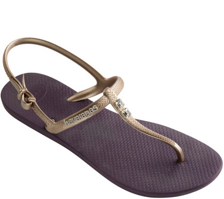Havaianas Thong Sandals - Freedom Glamour
