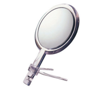 Floxite 10X/1X Two-Sided Handheld Mirror with Stand - A245090