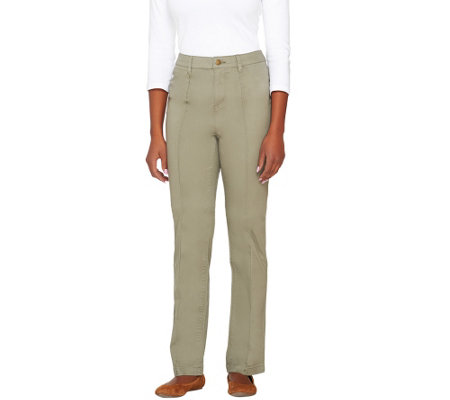 Liz Claiborne New York Hepburn Straight Leg Pants