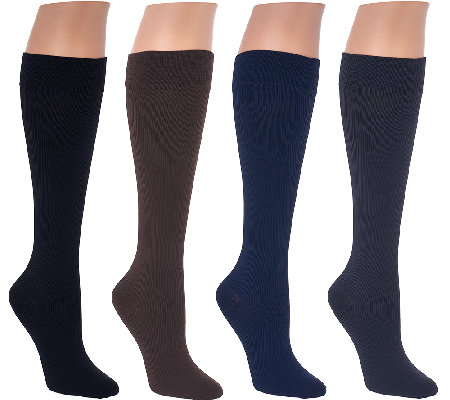 Legacy Graduated Compression Socks Set of 4 20-30mmHG