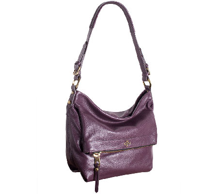 orYANY Pebble Leather Hobo Bag - Abbey