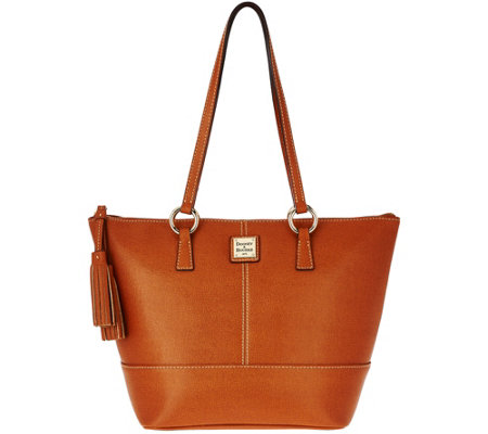 Dooney & Bourke Saffiano Leather Small Tobi Shopper