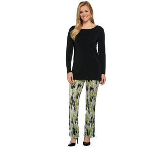 Attitudes by Renee Petite Radiant Knit Tunic and Pants Set - A273790