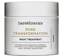 bareMinerals Pure Transformation Night Treatment - A277090