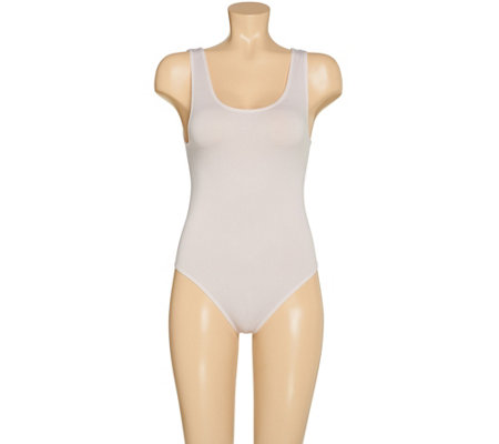 Airbrusher by Women with Control Seamless High Cut Bodysuit