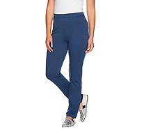 Susan Graver Weekend French Terry Pull-On Pants - A279790